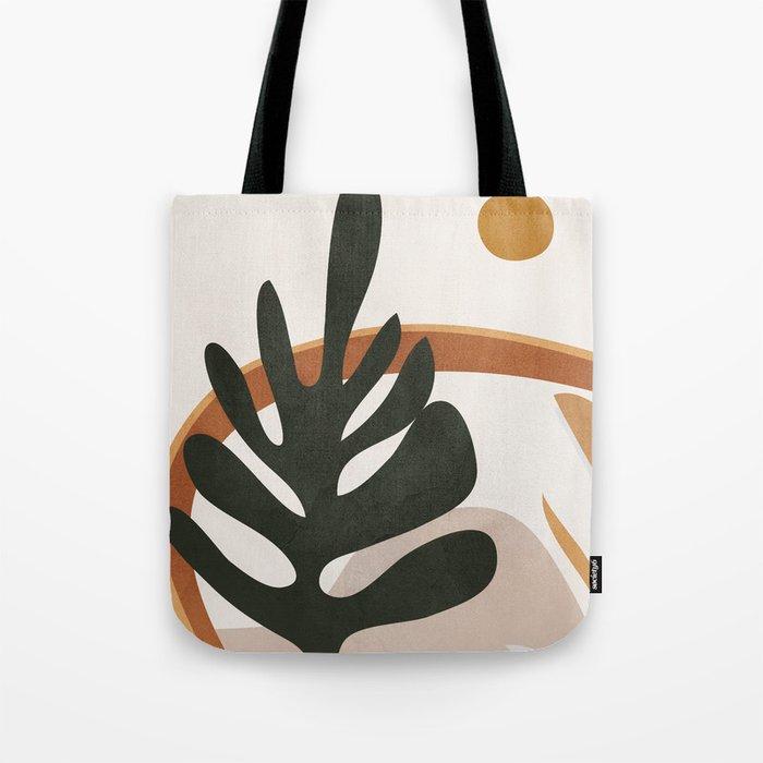 Abstract Plant Life I Tote Bag