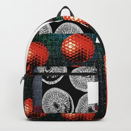 RED #THE 7 SERIES Backpack