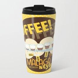 Málaga Coffee Metal Travel Mug