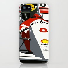 AYRTON SENNA- MONACO GRAND PRIX Slim Case iPhone (5, 5s)