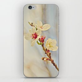 Almond Blossoms in the Wind iPhone Skin