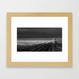 tornado country Framed Art Print