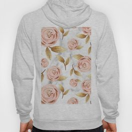 Blushing blooms Hoody