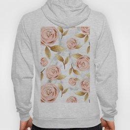 Blushing blooms Hoody