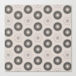 Fractal Cogs n Wheels in CMR01 Canvas Print
