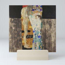 The Three Ages of Woman, 1905 by Gustav Klimt Mini Art Print