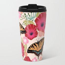 Swallowtail Florals by Andrea Lauren  Travel Mug