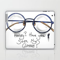 Honey?  Have you seen my glasses? Laptop & iPad Skin