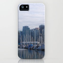 Downtown Vancouver iPhone Case