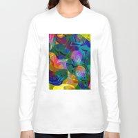 kiss Long Sleeve T-shirts featuring Kiss by Klara Acel