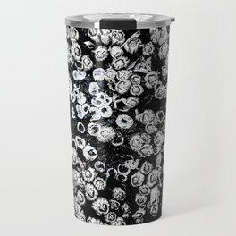 Black and White Barnacles Travel Mug