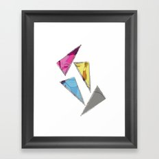 David Bowie inQuadri Framed Art Print