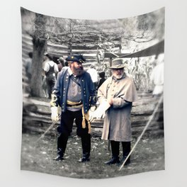 Civil War Reenactment Wall Tapestry