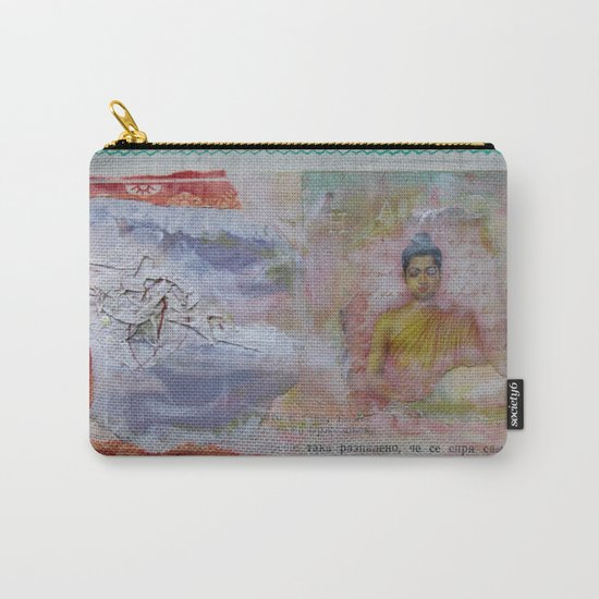 Buddha Collage - JUSTART (c) Carry-All Pouch