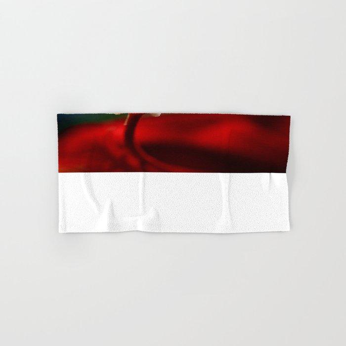 Red & White  Hand & Bath Towel