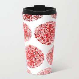 Poppy Filigrane Metal Travel Mug