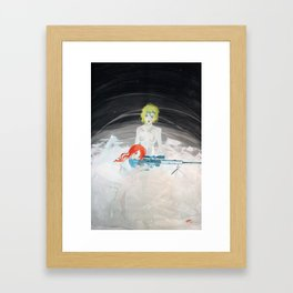 HK PSG-1 Framed Art Print