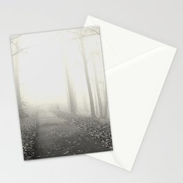 Seltsam, im Nebel zu wandern! - Hesse (In the fog) Stationery Cards