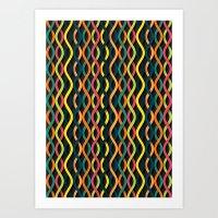 dna Art Prints featuring DNA by Shkvarok