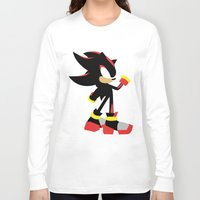 shadow Long Sleeve T-shirts featuring Shadow by JHTY