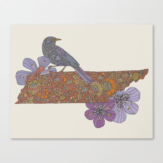 Hello Tennessee Canvas Print