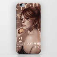 snk iPhone & iPod Skins featuring SnK Magazine: Sasha by emametlo