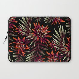 Aechmea Fasciata - Dark Orange / Purple Laptop Sleeve