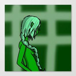 Green | Veronica Nagorny Canvas Print