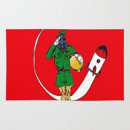 Space Cadet Academy Rug