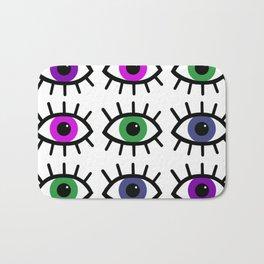 Open Your Eyes - Festival Pattern Bath Mat
