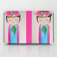 frida kahlo iPad Cases featuring Frida Kahlo by lolieon