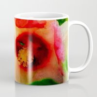 hibiscus Mugs featuring Hibiscus by Christine Belanger