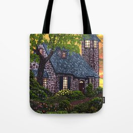 Essex House Lighthouse by Ave Hurley  Tote Bag