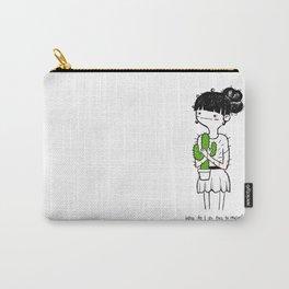 Cactus Hug by Sarah Pinc Carry-All Pouch