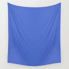 Royal Blue Saturated Pixel Dust Wall Tapestry