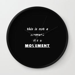 This is a MOVEMENT Wall Clock