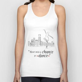 Chance to dance Unisex Tank Top
