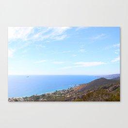 Coastin' Canvas Print