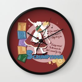Scrumptious Wall Clock