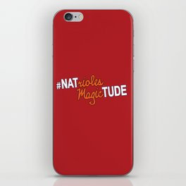 #NatriolesMagictude iPhone Skin