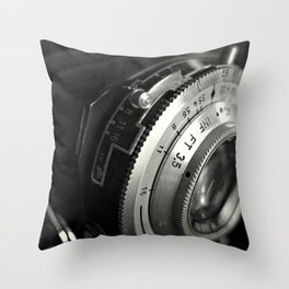 fstop Throw Pillow