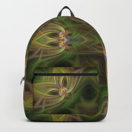 Abstract Cross Backpack