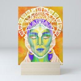 Queen of the Veil Mini Art Print
