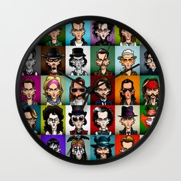 Johnny Wall Clock