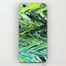 Paper Marbling 02 iPhone & iPod Skin