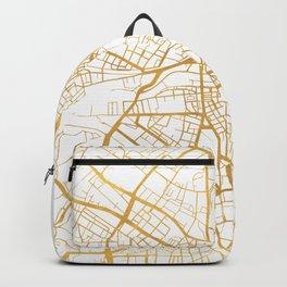 GENEVA SWITZERLAND CITY STREET MAP ART Backpack