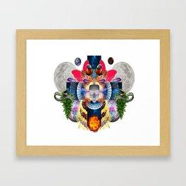 Beyond Myself Framed Art Print