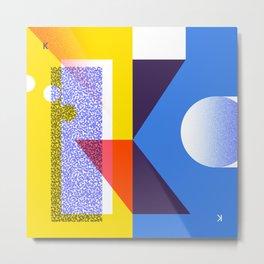 36 Days of Type · K Metal Print