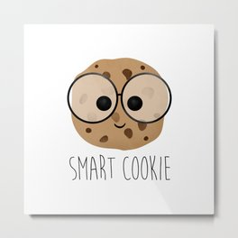 Smart Cookie Metal Print