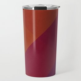 Square Abstract Gradient Art Travel Mug